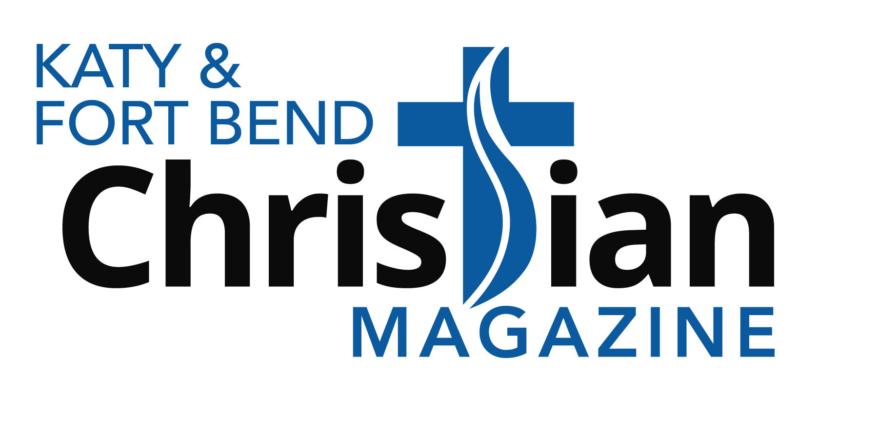 Katy and Fort Bend Christian Magazine - Logo - Blue Accent